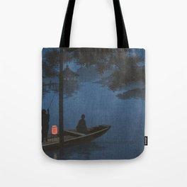 TIR-FA - Japan Print - Shubi pine at Night Tote Bag