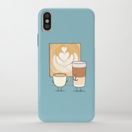 Latte art iPhone Case