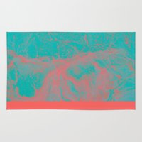 underwater Area & Throw Rugs featuring underwater by JG-DESIGN