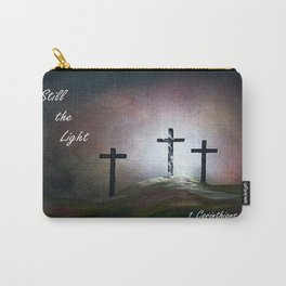 Still the Light Scripture Painting Carry-All Pouch