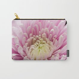 Pink Chrysanthemum In Bloom Carry-All Pouch