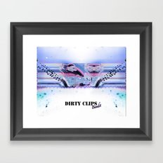 Drty Clips  Framed Art Print