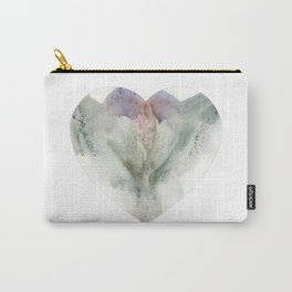 Valentine's Day Vagina Print Carry-All Pouch