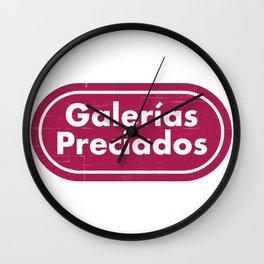GALERÍAS PRECIADOS Wall Clock