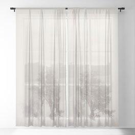 the magic of winter ...  Sheer Curtain