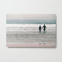 surf love Metal Print