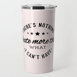 TS Quotes Lyrics Travel Mug