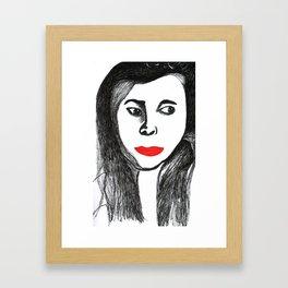 Sophie Cookson Framed Art Print