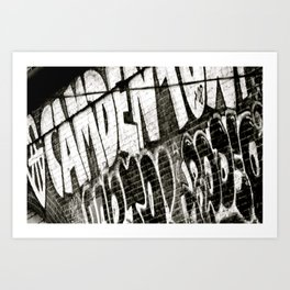 CamdenTown Art Print