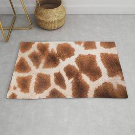 Giraffe Giraffe Zoo Safari Skin Fur Pattern Rug
