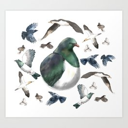 Bird Bonanza Art Print