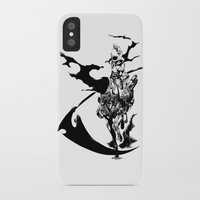 durarara iPhone & iPod Cases featuring Celty & Shooter by Prince Of Darkness