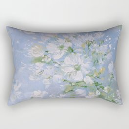 Sweet Wild Roses Rectangular Pillow