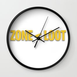 Fortnite - Loot Loot Loot Wall Clock