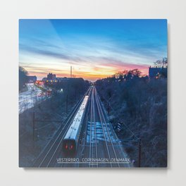 Heading out Metal Print