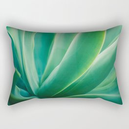 Agave on a Pretty Day Rectangular Pillow