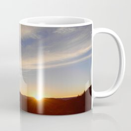 Top of the Summit Sunset Coffee Mug