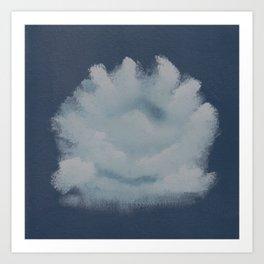Dare to Dream - Cloud 75 of 100 Canvas Print Art Print