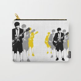 Taking the Lead - white Carry-All Pouch