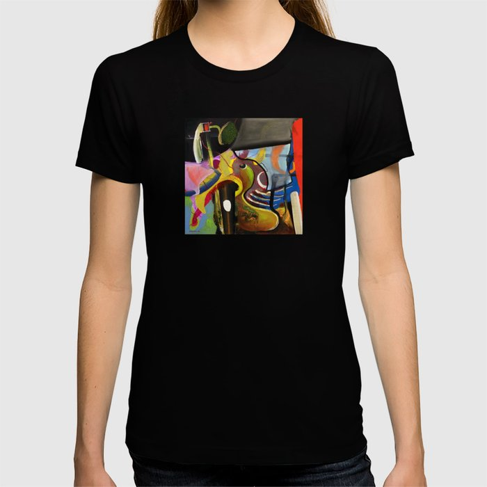 Circus Juice (oil on canvas) T-shirt