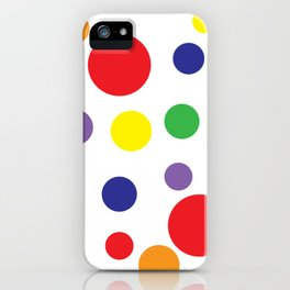 Rainbow Pop iPhone Case