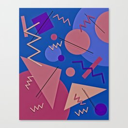 Memphis #96 Canvas Print