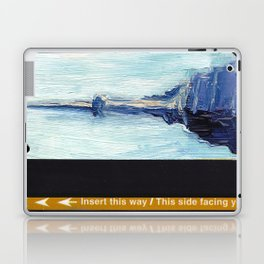Subway Card Empire State Building No. 1 Laptop & iPad Skin