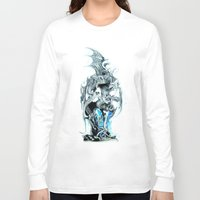 dungeons and dragons Long Sleeve T-shirts featuring dragons by Vector Art