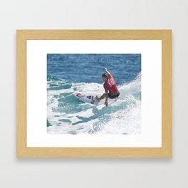 CONNER COFFIN USA Framed Art Print