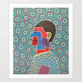 All Eyes On Me Art Print