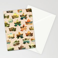 Memory in Leaves Stationery Cards