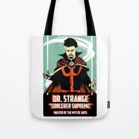 doctor Tote Bags featuring Doctor by Shop 5