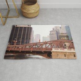 Chicago River Rug