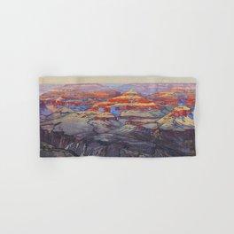 Grand Canyon Vintage Japanese Woodblock Print American Landscape Hiroshi Yoshida Hand & Bath Towel