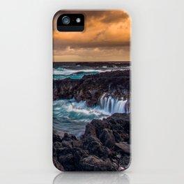 Kipahulu coastline iPhone Case