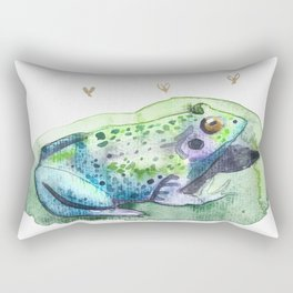 Lily Padded Rectangular Pillow