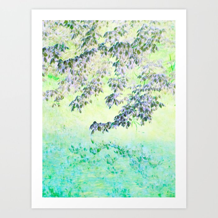 """""""Touched By Spring"""" Art Print"""