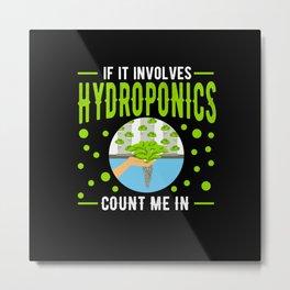 Hydroponics Metal Print