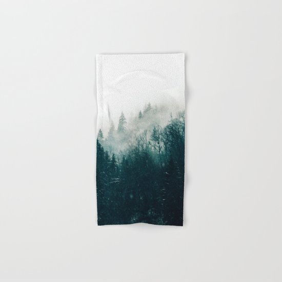 The Silent Forest #society6 #decor #buyart Hand & Bath Towel