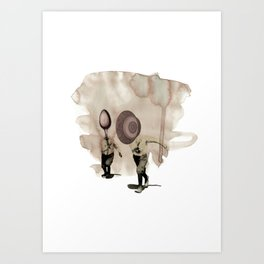 hey diddle diddle 5 Art Print