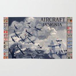 Aircraft Insignia Rug
