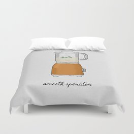 Smooth Operator Duvet Cover