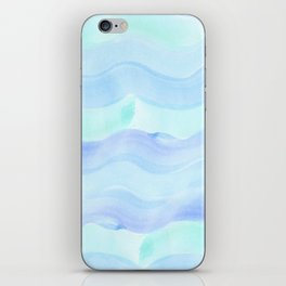 water color waves iPhone Skin