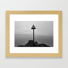 Endless mist Framed Art Print