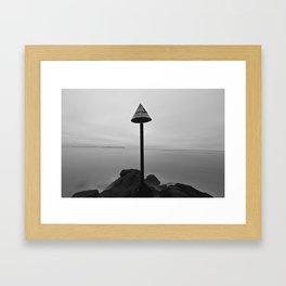Endless mist Framed Art Print