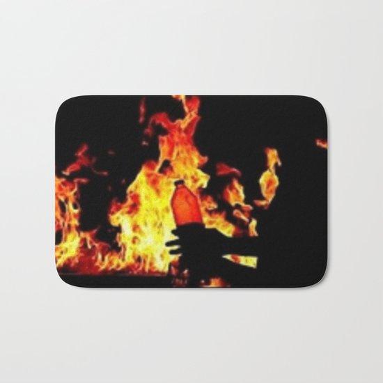 fireball Bath Mat