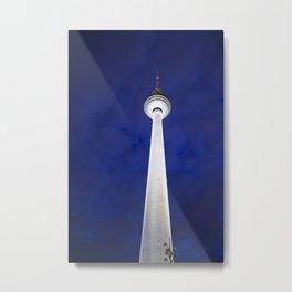 Berliner Fernsehturm Metal Print