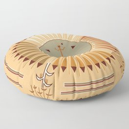 American Native Pattern No. 42 Floor Pillow