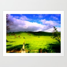 Alpine Country Art Print