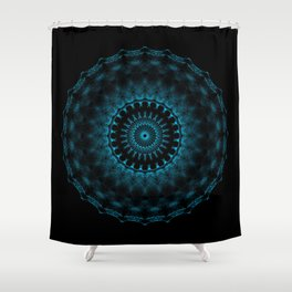 Snowflake #005 solid Shower Curtain